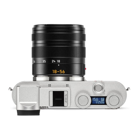 Leica CL Vario Bundle, Silver with Vario-Elmar-TL 18-56mm