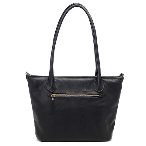 ONA Capri - Leather Camera Tote Bag - Black