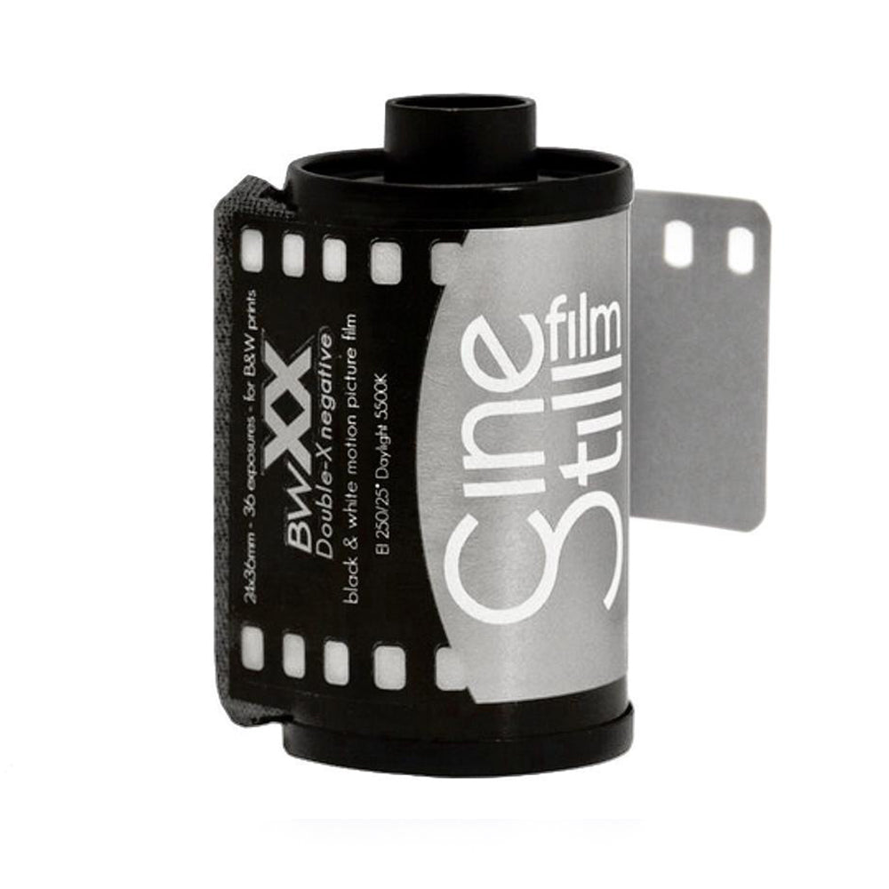 Cinestill BWXX (DOUBLE-X) Black & White Film, 35mm 135/36exp. (ISO 250)