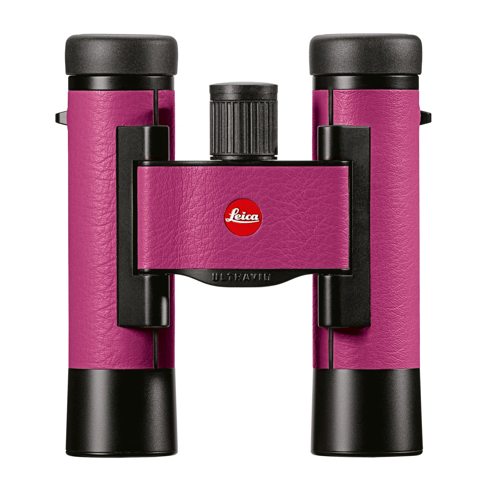 Leica Ultravid Colorline 10 x 25 Binocular - Cherry Pink