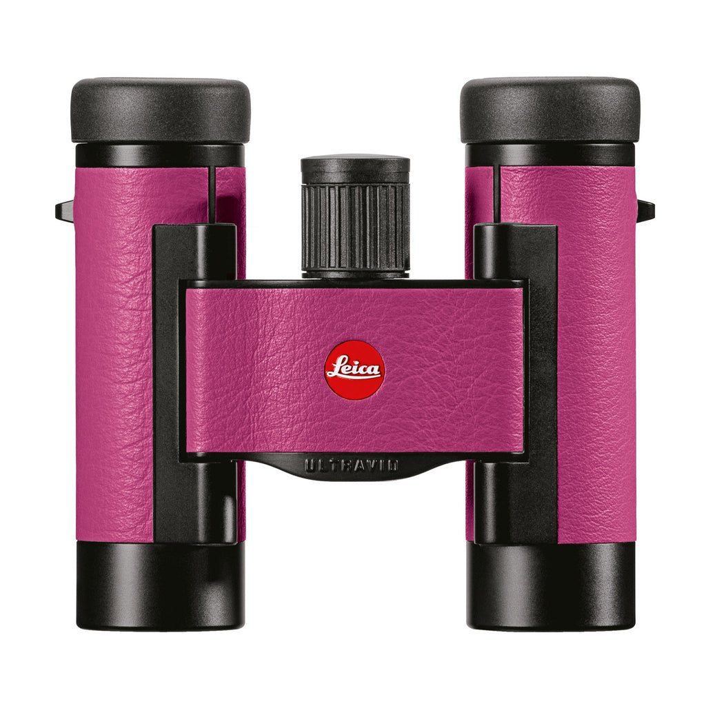 Leica Ultravid Colorline 8 x 20 Binocular - Cherry Pink