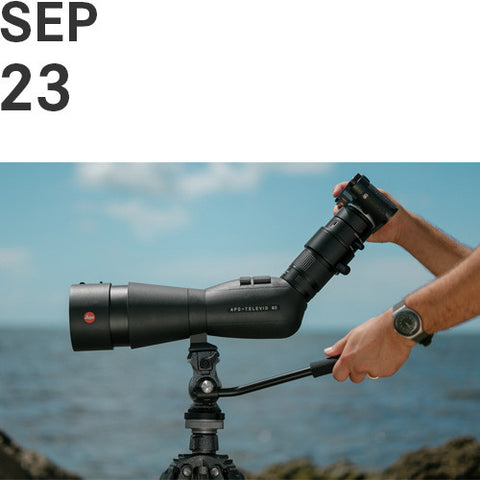 Digiscoping: How to Unlock the Super-Telephoto Capabilities of your Leica Camera  |  Sat, Sep. 23, 2017, 6pm - 7:30pm