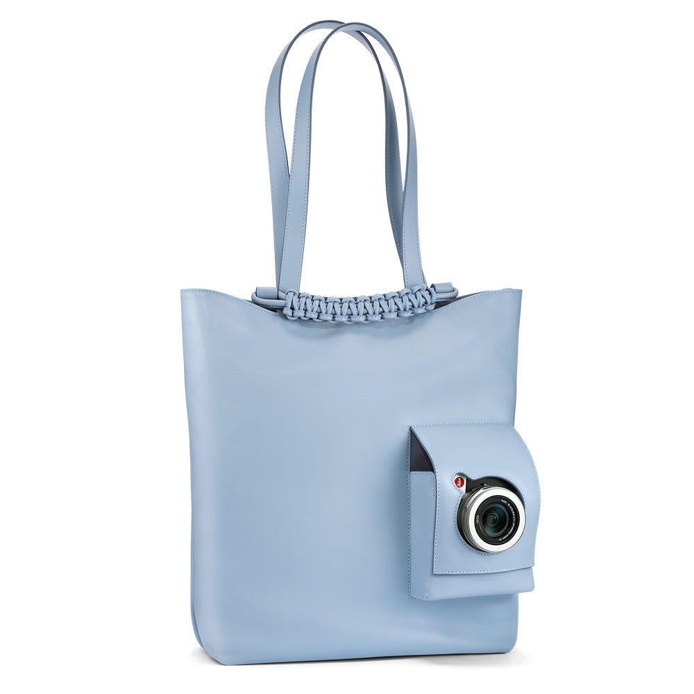 Leica Shopping Tote Bag, Baby Blue