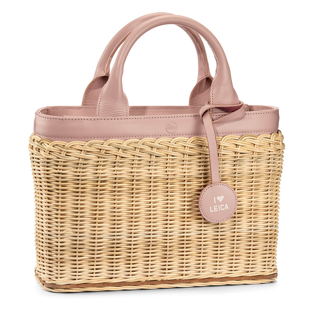 Leica Wicker Basket, Lilac