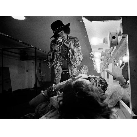 Jimi Filming Janis - 16x20 - Edition of 25