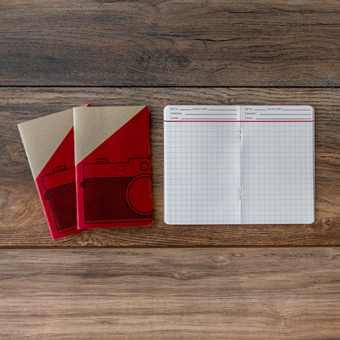 Jot the Shot Photo Journal - Set of 3 Grid Notebooks