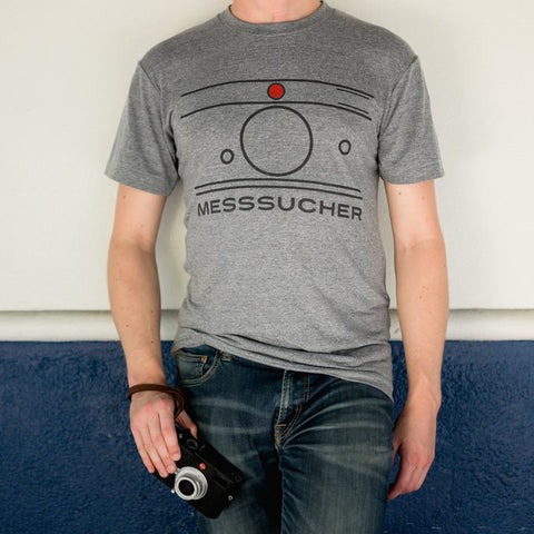 Messsucher T-Shirt, Athletic Gray, Mens, Large