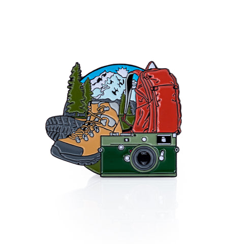 The Traveling M's: A 2020 Enamel Pin Collection, Limited Edition, M10-P Safari