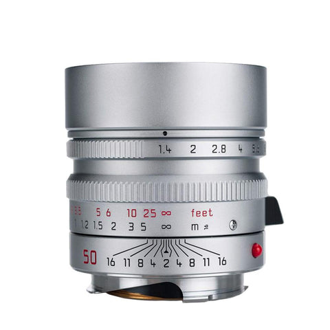 Leica Summilux-M 50mm f/1.4 ASPH - Silver (Made in Portugal)