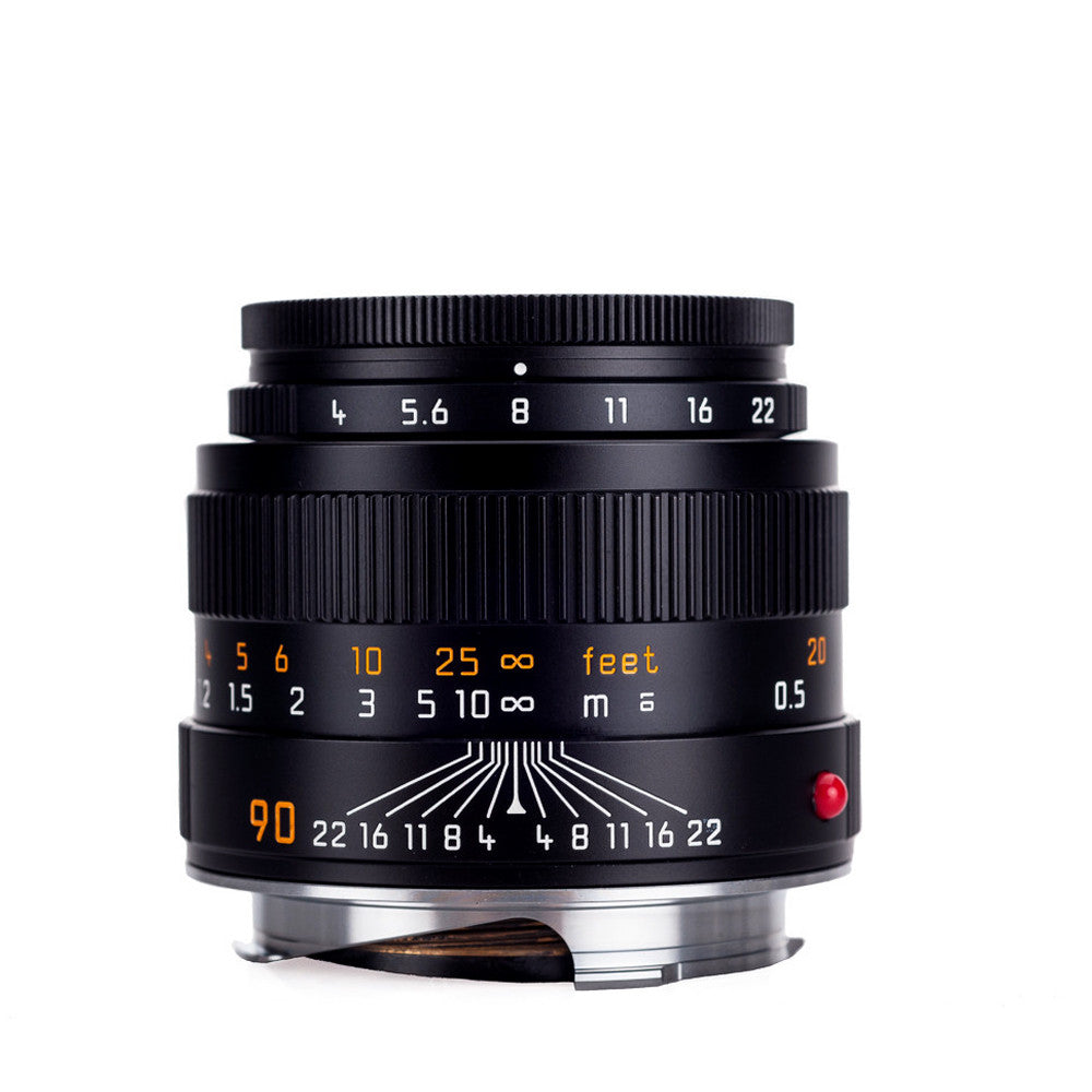 Leica Macro-Elmar-M 90mm f/4 with Macro-Adapter-M and Angle VF