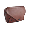 Leica Ever ready case Naturally tanned leather cognac