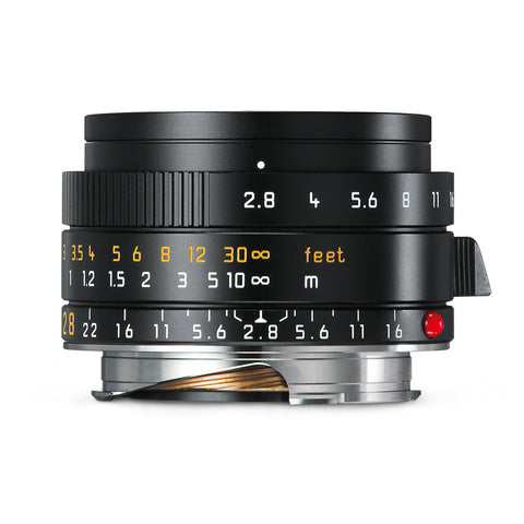 Leica Elmarit-M 28mm f/2.8 ASPH, black