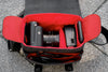 Oberwerth Leica Q2 Leather Photo Bag - Black with Red Lining