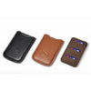 Leica SD Card & Credit Card Holder, leather, Black