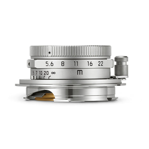 Leica Summaron-M 28mm f/5.6, Silver Chrome
