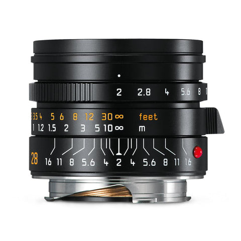 Leica Summicron-M 28mm f/2 ASPH, black (Made in Portugal)