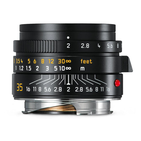 Leica Summicron-M 35mm f/2 ASPH, black (Made in Portugal)