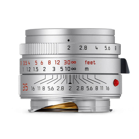 Leica Summicron-M 35mm f/2 ASPH, silver (Made in Portugal)