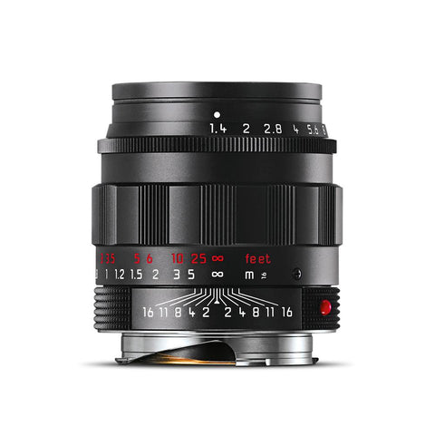 Leica Summilux-M 50mm f/1.4 ASPH - Black Chrome Finish (Made in Portugal)