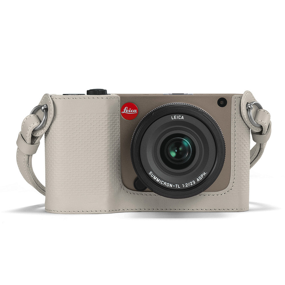 Leica Protector for TL, leather, cemento