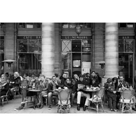 Louis Jay - Signed Archival Print - Cafe Nemours, Paris (75)