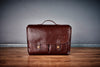 Oberwerth München Large Leather Camera Bag - Vintage Brown