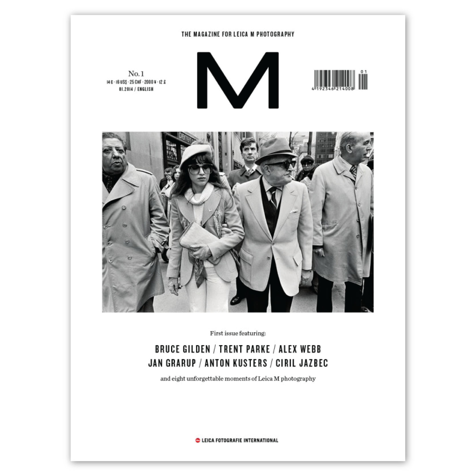 LFI M Magazine No. 1 featuring Bruce Gilden, Trent Parke, Alxe Webb  & Others