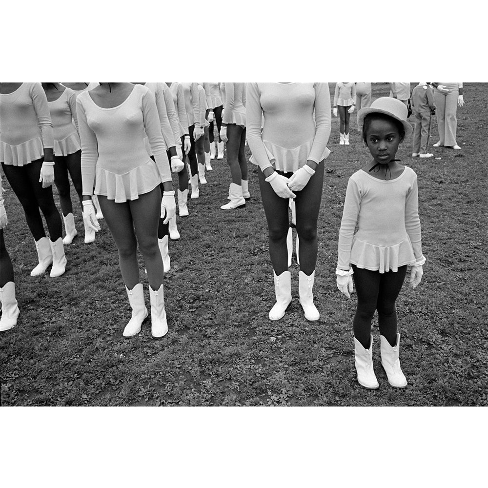 "Constantine Manos - 13x19"" Print - Majorettes at Parade, Boston, 1976"