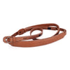 Leica Leather Neckstrap with protection flap, Cognac