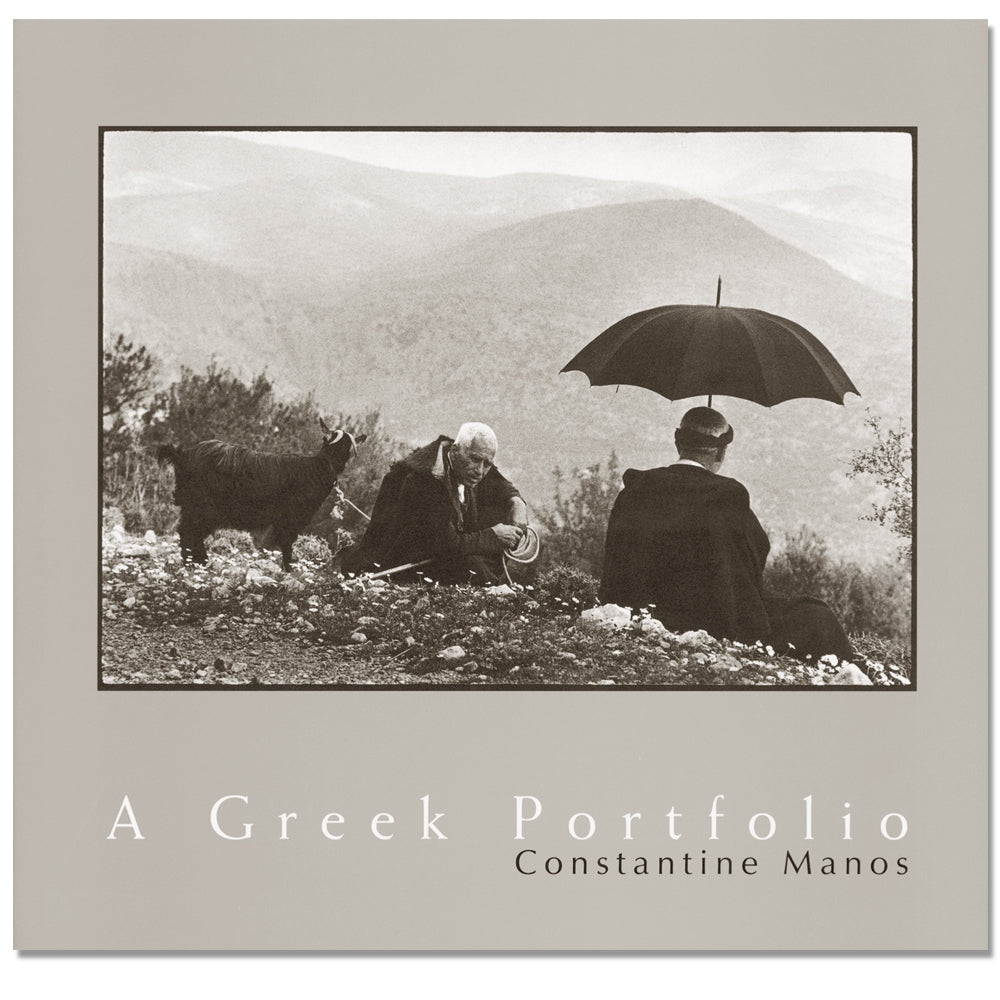 Constantine Manos: A Greek Portfolio, 2nd Ed., 1999 - Signed, Out of Print