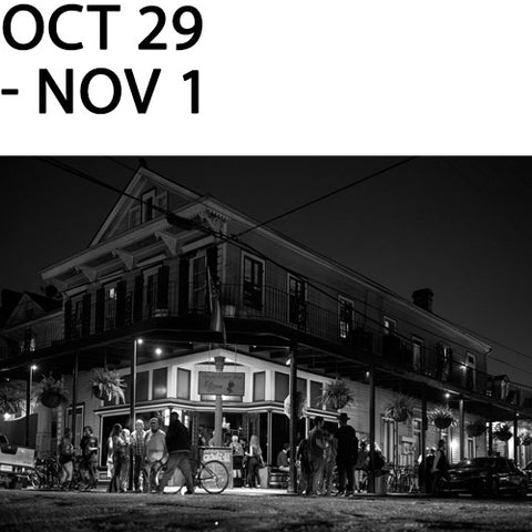 New Orleans Monochrom Workshop with Richard Sexton | October 29 - November 1, 2020