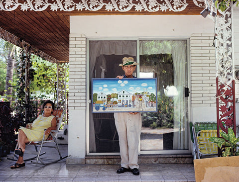 Nathan Benn - Editioned Print -  Mario Sanchez's Vision of Paradise, Key West, Florida, 1981