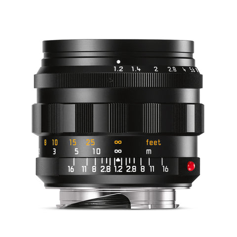 Leica Noctilux-M 50mm f/1.2 ASPH, black anodized