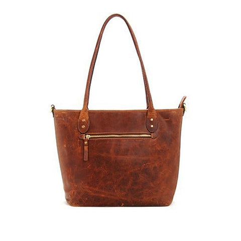 ONA Capri - Leather Camera Tote Bag - Antique Cognac