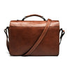 ONA Brooklyn Premium Leather Camera Satchel - Chestnut