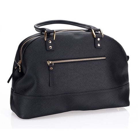 ONA Chelsea Saffiano Leather Camera Bag - Black