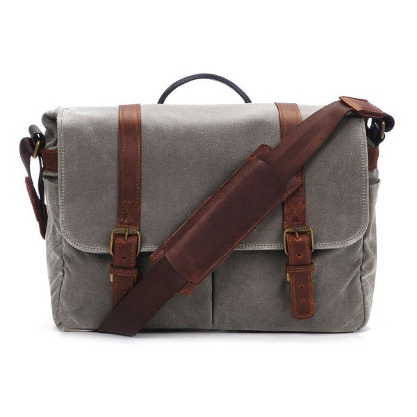 ONA Brixton Camera Messenger Bag - Smoke