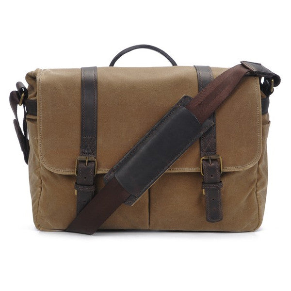 ONA Brixton Camera Messenger Bag- Field Tan
