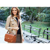 ONA Palma Leather Crossbody Camera Satchel - Antique Cognac