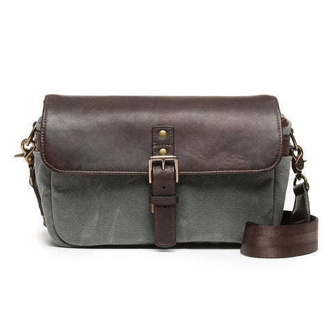 ONA Bowery 50/50 Camera Bag - Smoke and Dark Truffle
