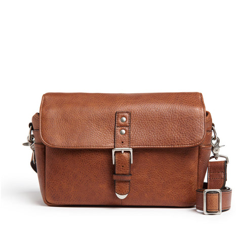 ONA The Pebbled Bowery Camera Bag - Walnut
