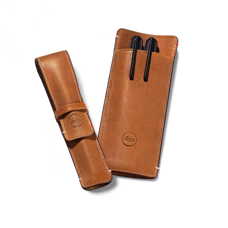 Leica Leather 3-Pen Case