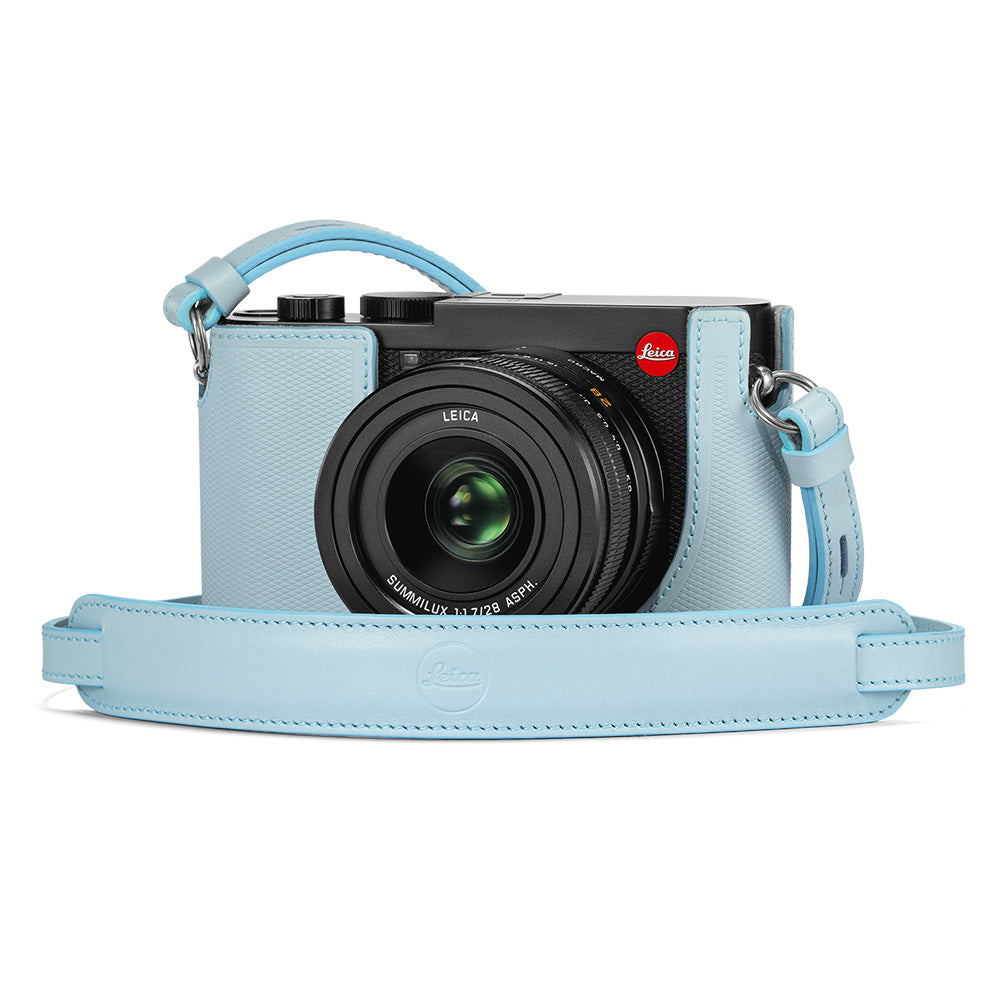 Leica Q2 Leather Carrying Strap, Blue
