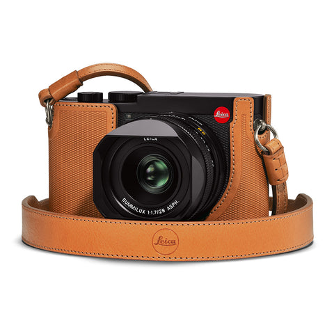 Leica Q2 Leather Carrying Strap, Brown