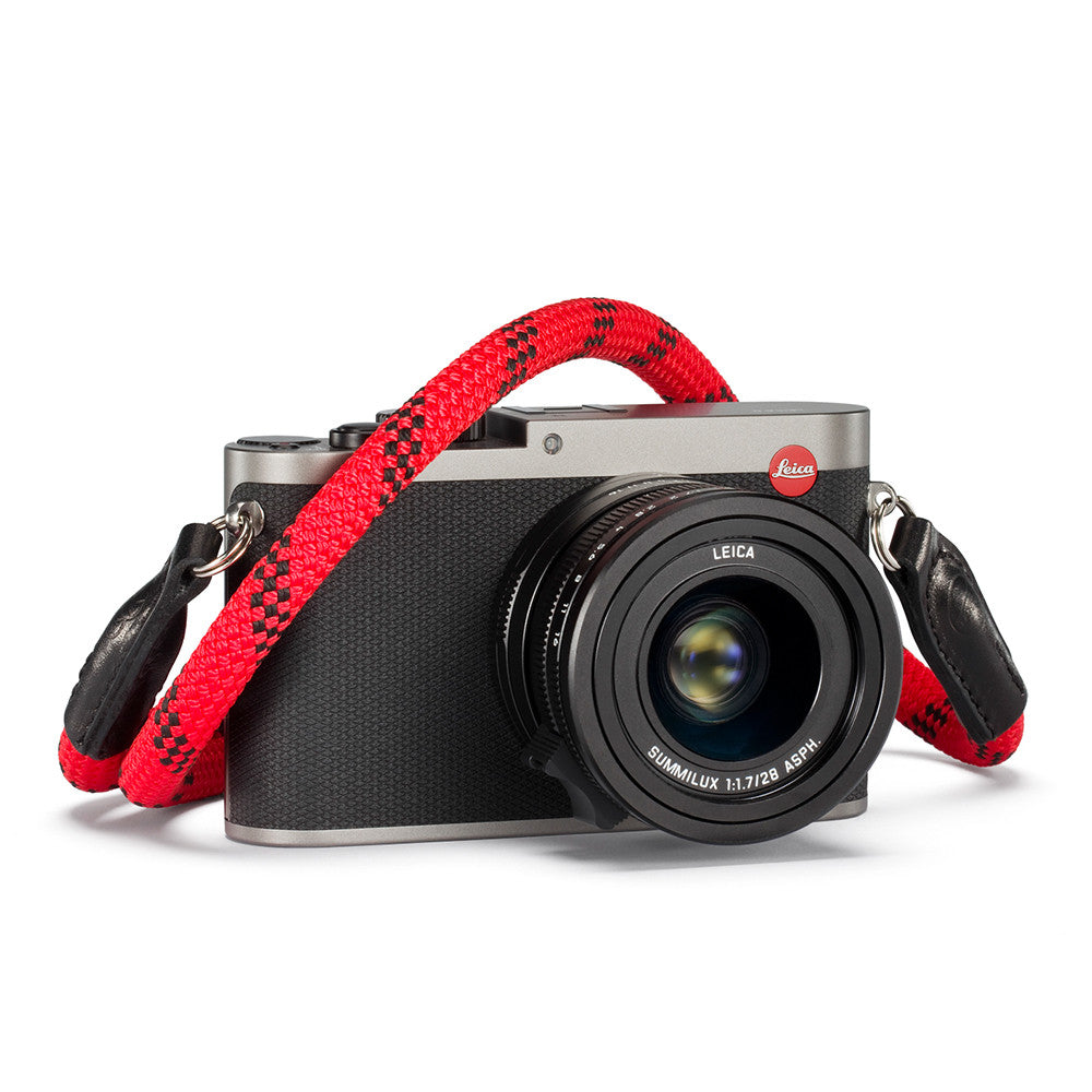 Leica Rope Strap by Cooph, Fire, 100cm, Key-Ring Style