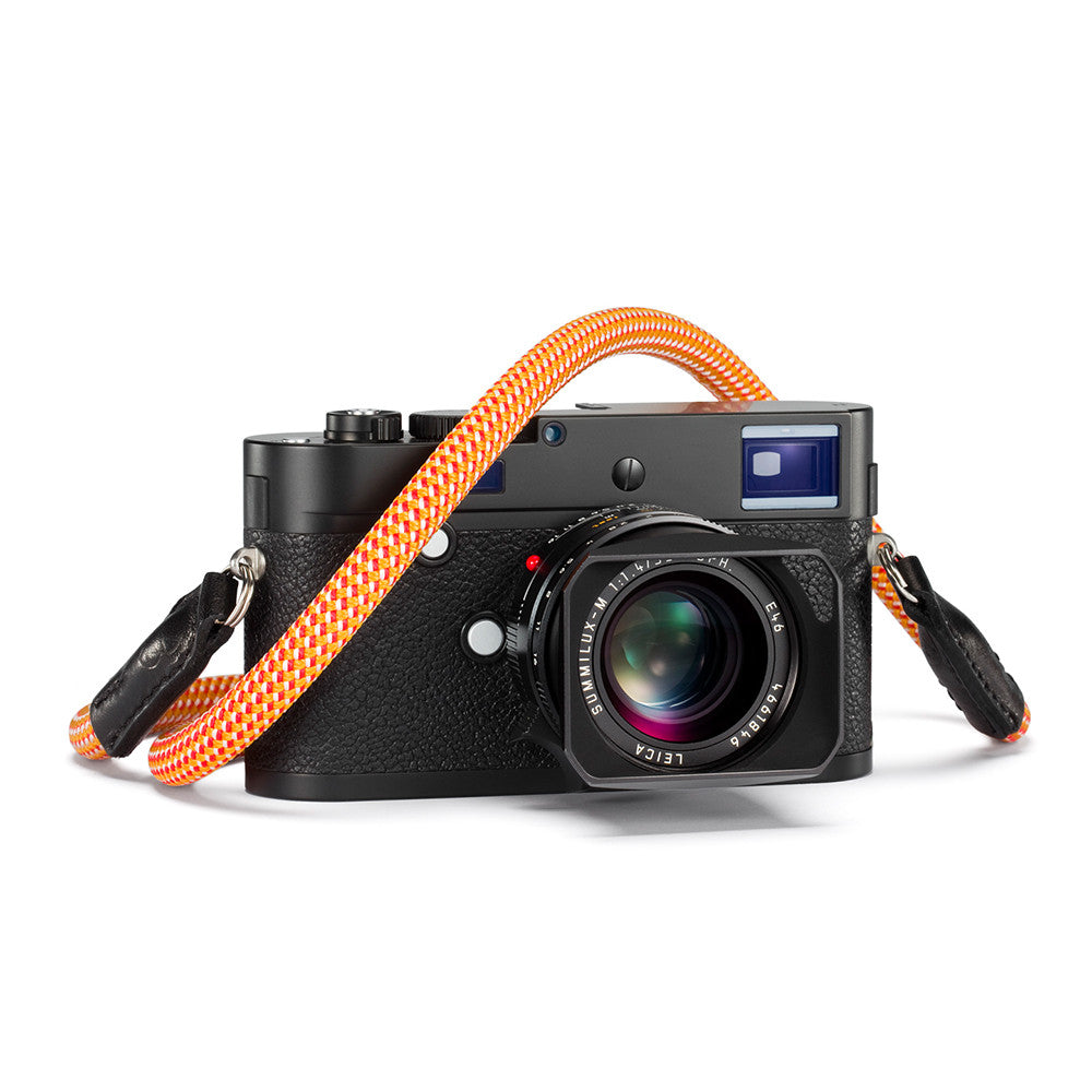 Leica Rope Strap by Cooph, Glowing Red, 126cm, Key-Ring Style