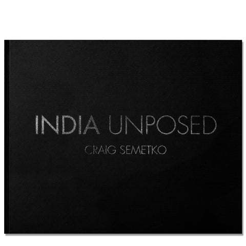 Craig Semetko: India Unposed, 2014 - Signed
