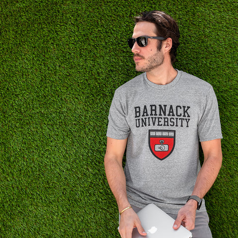 Barnack University T-Shirt 2018, Athletic Heather, Mens, Large