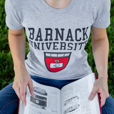 Barnack University T-Shirt 2018, Athletic Heather, Womens, Large