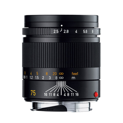 Leica Summarit-M 75mm f/2.5